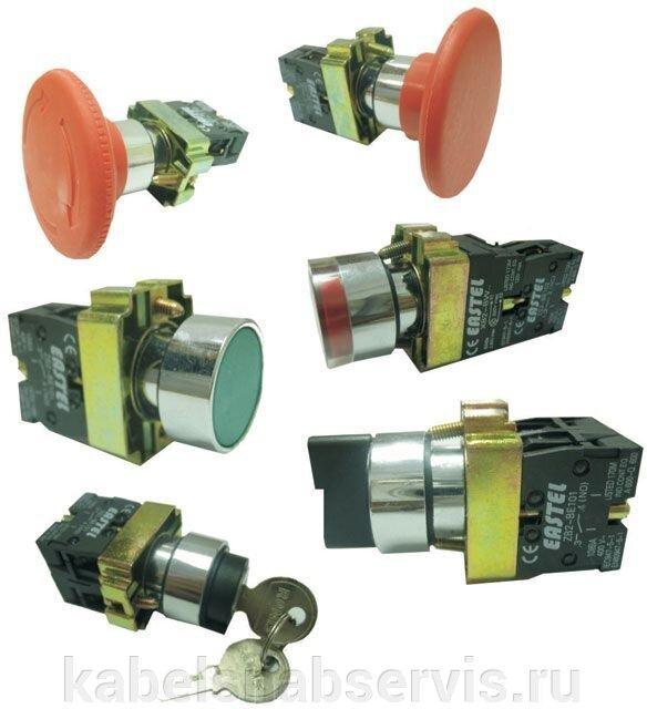 Устройства управления (переключатели, кнопки управления, микропереключатели, тумблеры) - фото 1