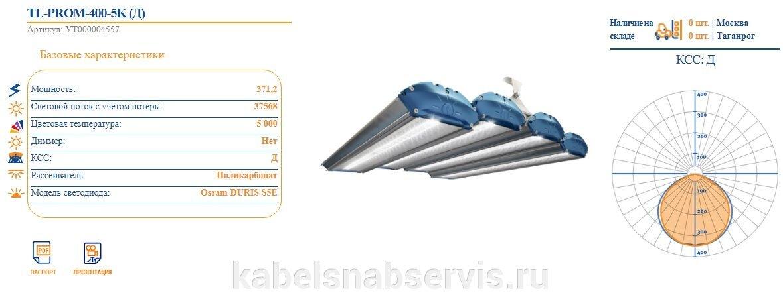 Светодиодные промышленные светильники TL-PROM - фото pic_99e236a27b95098_1920x9000_1.jpg