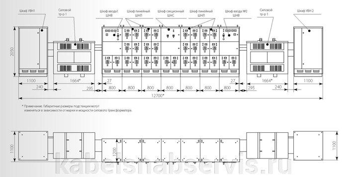 Подстанции трансформаторные комплектные внутренней установки (КТП) внутрицеховые (до 2500 кВа) - фото pic_cdadee0e61d9ef5_700x3000_1.jpg