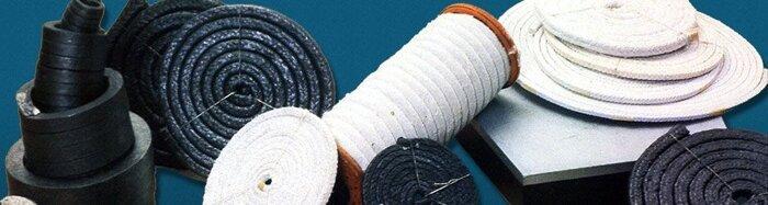 Асбестотехническая продукция (паронит, асботкань, асбокартон, набивка, ленты тормозные) - фото 1
