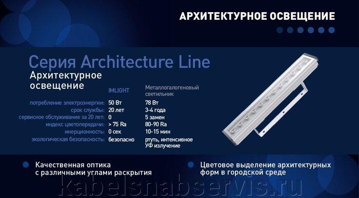 Светодиодные светильники серии Architecture - Line 14°, 32°, 54°, 34*16° с белыми светодиодами по оптовым ценам!!! - фото 10