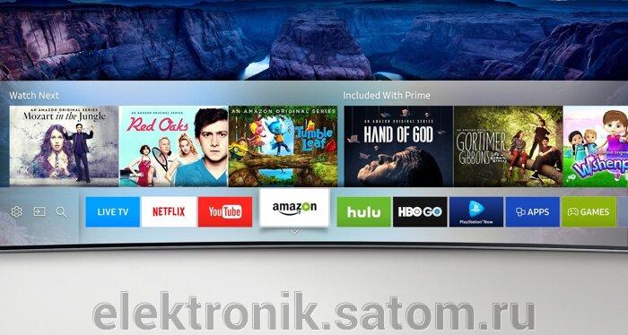 "Телевизор 32"" Samsung UE32M5500AUXRU, FHD (1080p), Smart TV, титан - фото pic_0296964e71e1827_700x3000_1.jpg"