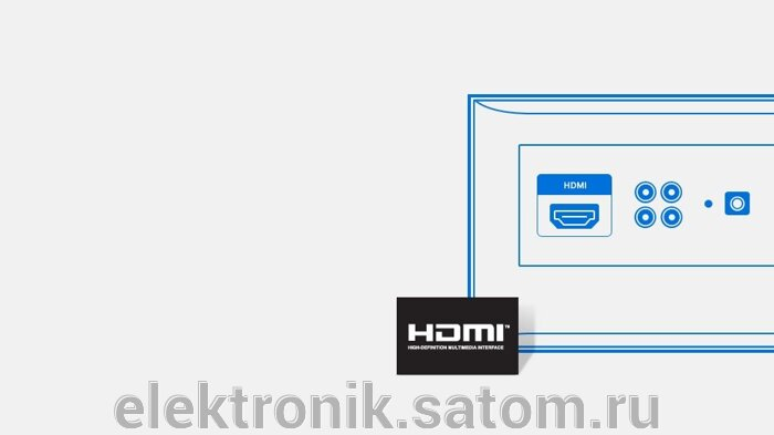"""Телевизор  Samsung 40"""" UE40J5200AF, FULL HD (1080p), Smart TV , черный - фото 3"""