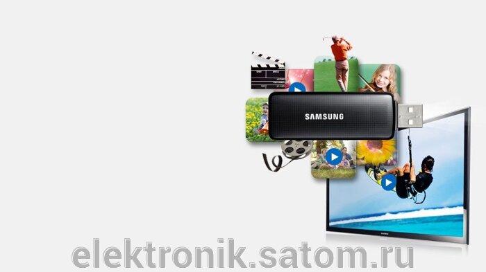 """Телевизор  Samsung 40"""" UE40J5200AF, FULL HD (1080p), Smart TV , черный - фото 4"""