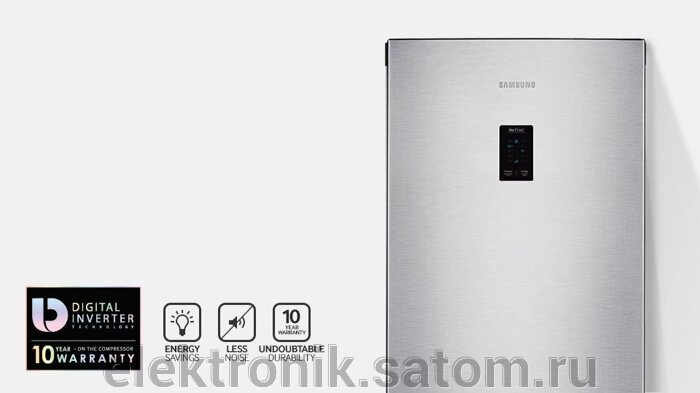 Холодильник Samsung RB30J3200SS,  серебристый (двухкамерный) - фото 8