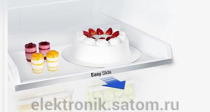 Холодильник Samsung RB30J3200SS,  серебристый (двухкамерный) - фото 3