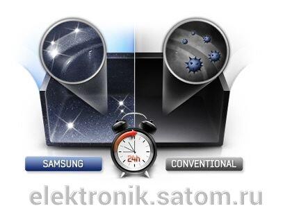 Микроволновая печь Samsung ME83KRS-2, 23 л, 800 Вт, серебристый - фото 2