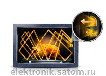 Микроволновая печь Samsung ME83KRS-2, 23 л, 800 Вт, серебристый - фото 3