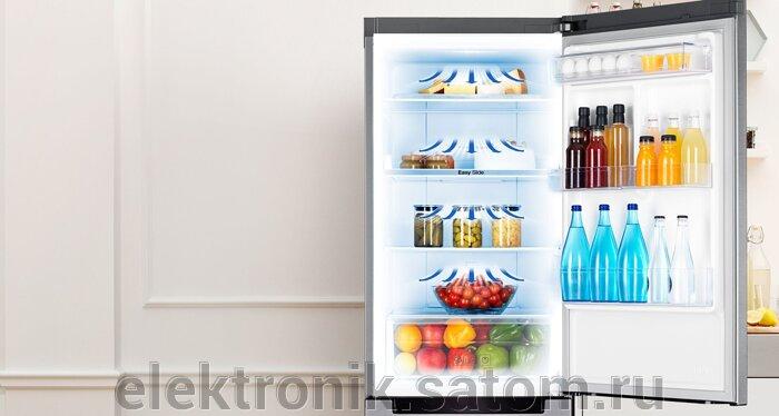 Холодильник Samsung RB30J3200SS,  серебристый (двухкамерный) - фото 2