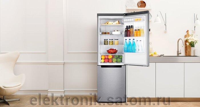Холодильник Samsung RB30J3200SS,  серебристый (двухкамерный) - фото 1