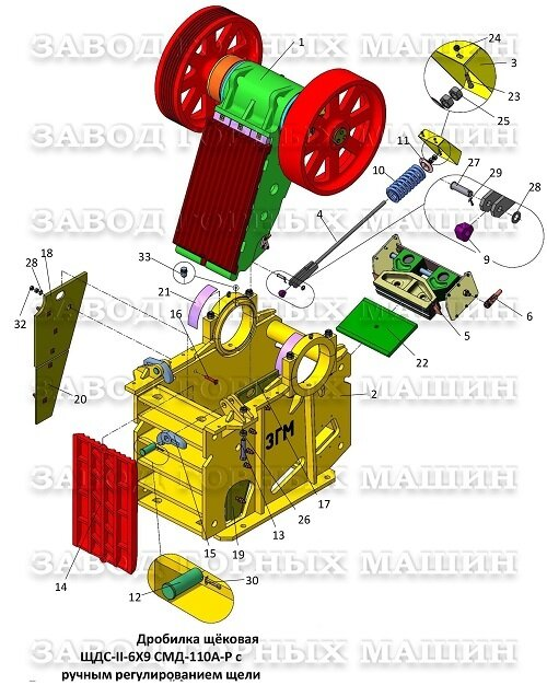 Механизм дробления СМД-110А-Р 1049115000-50 - фото pic_a72bc58f98756d817773ebf00d615803_1920x9000_1.jpg