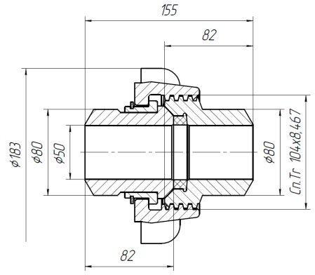 БРС Быстроразъемные соединения для труб НКТ-60, НКТ-73, НКТ-102. - фото pic_907f5880fd2b580a72f4bbc144ff6e0c_1920x9000_1.jpg