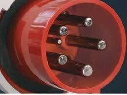 Вилка кабельная сетевая MKS 16/400/5 - фото 2