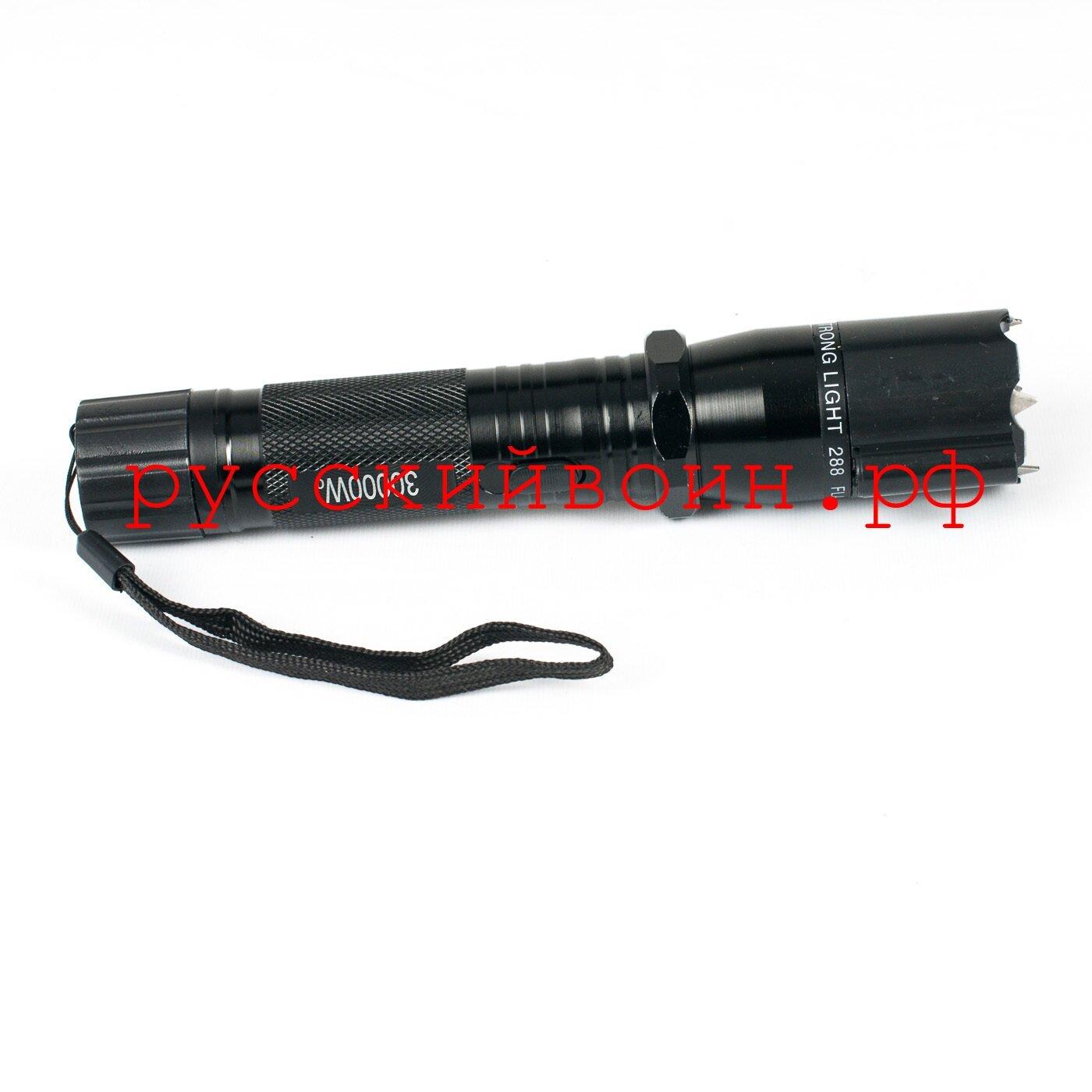 Электрошокер Police 288, тактический лазер - фото Электрошокер Police 288