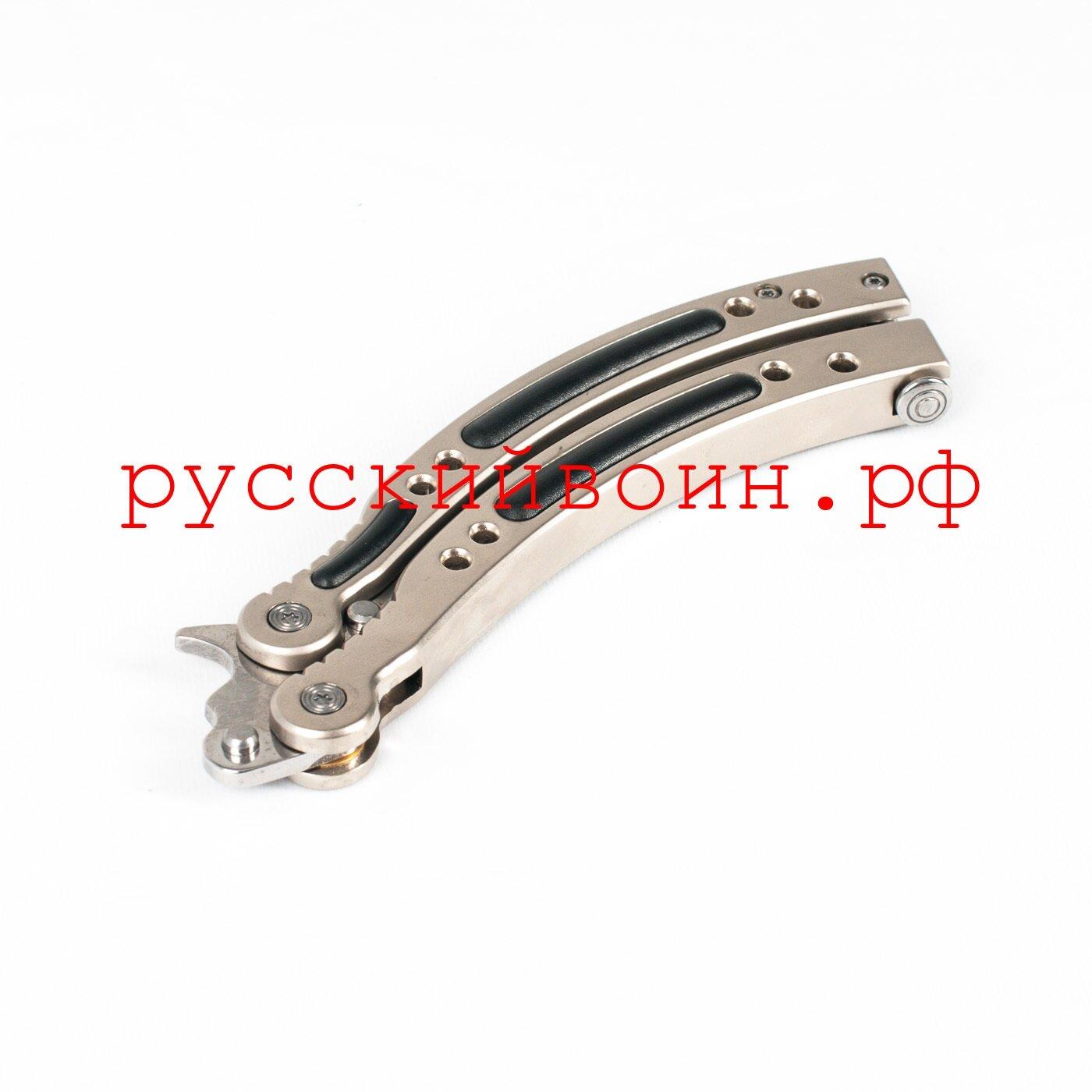 Нож-бабочка CS GO Silver