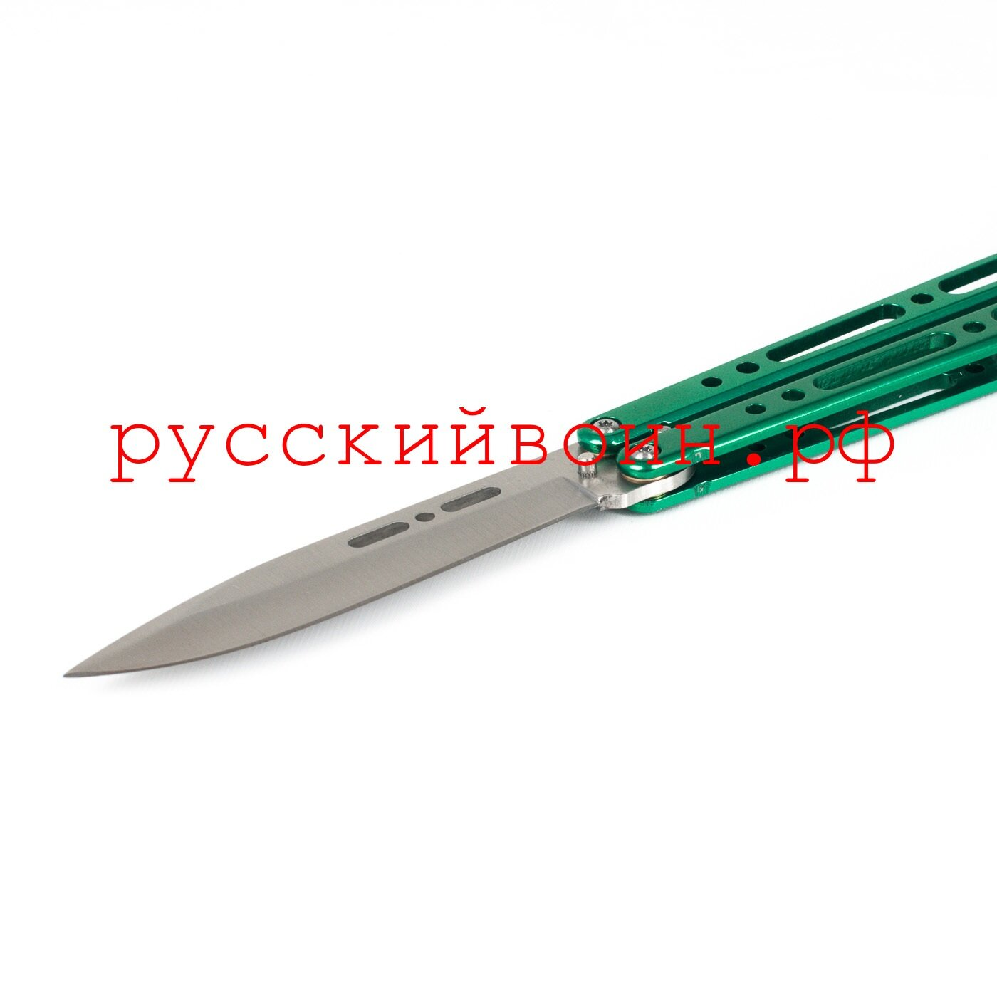 Нож-бабочка Pandora Green