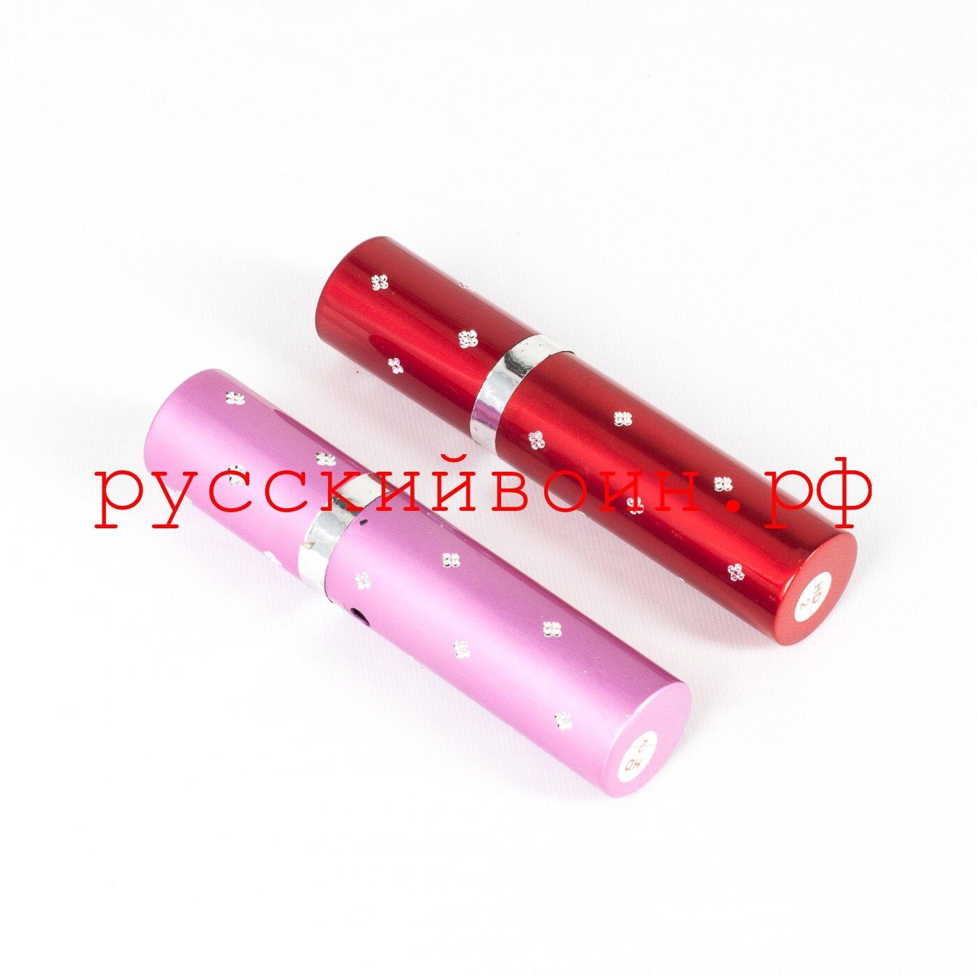 Электрошокер губная помада 1112, 10000KV, для женщин - фото Электрошокер помада