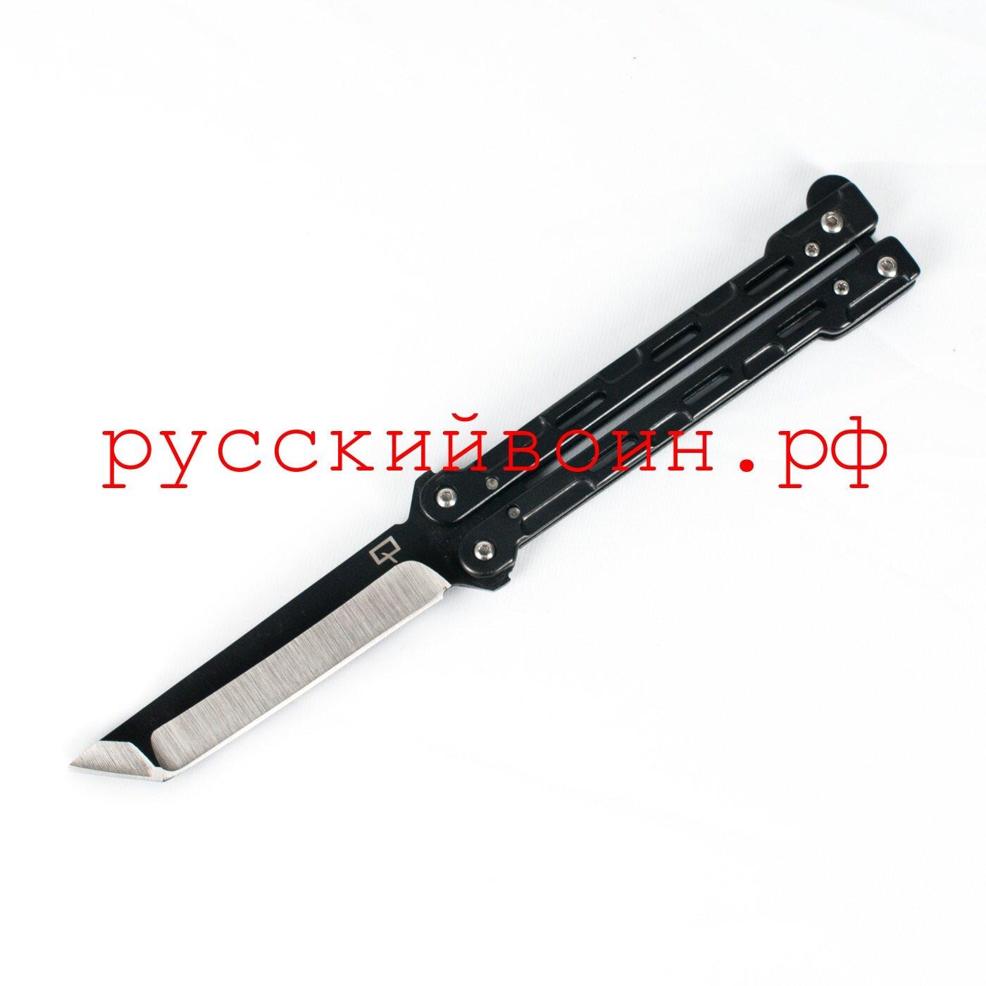 Нож-бабочка Tanto Black