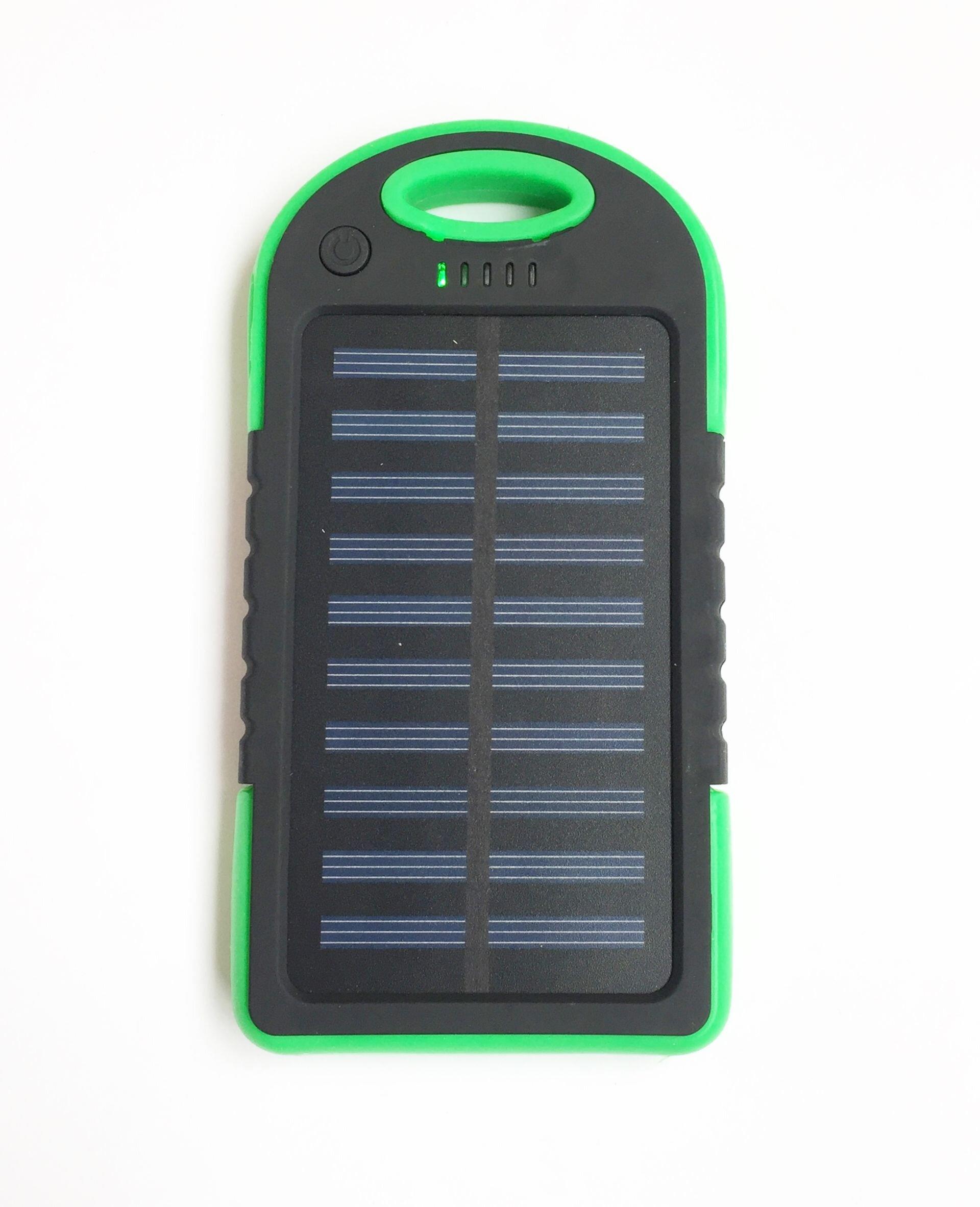 Внешний аккумулятор PowerBank ES500 на солнечной батарее 8000mAh