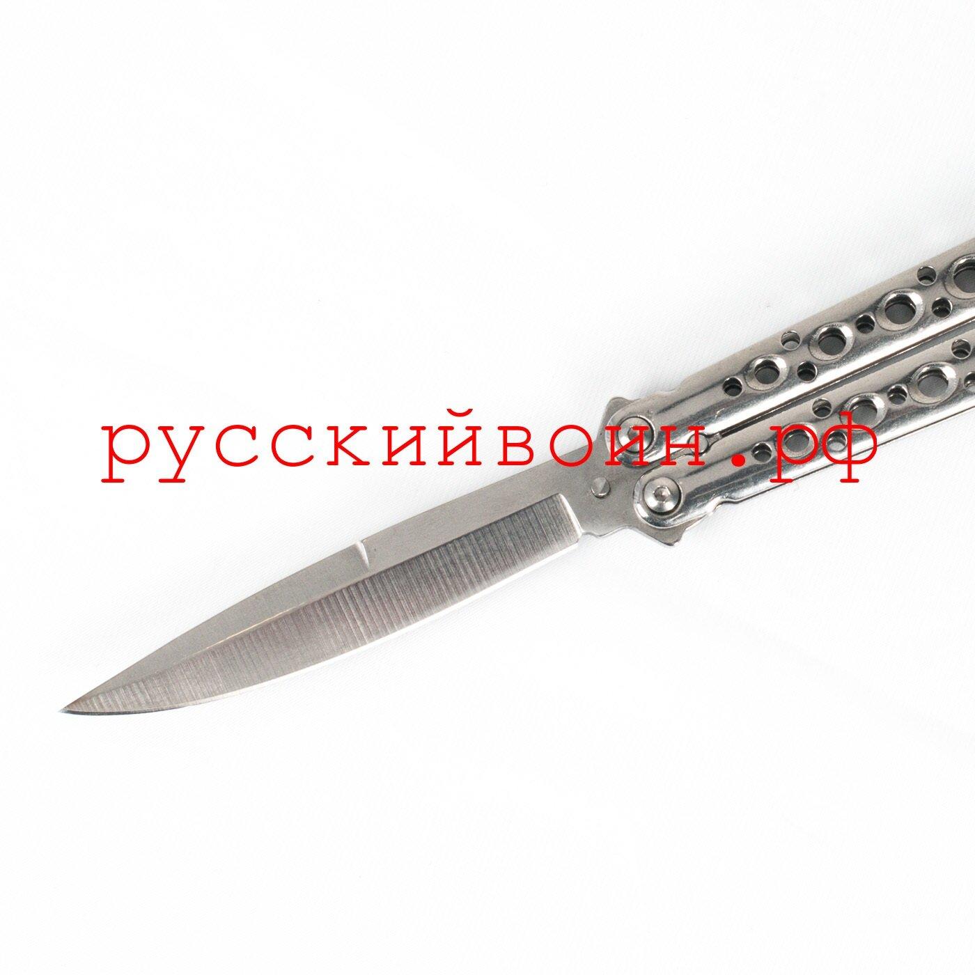 Нож-бабочка Silver