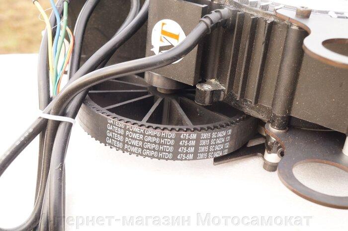 Цепной веломотор Циклоп-3, с ременным приводом, аналог веломотора GNG