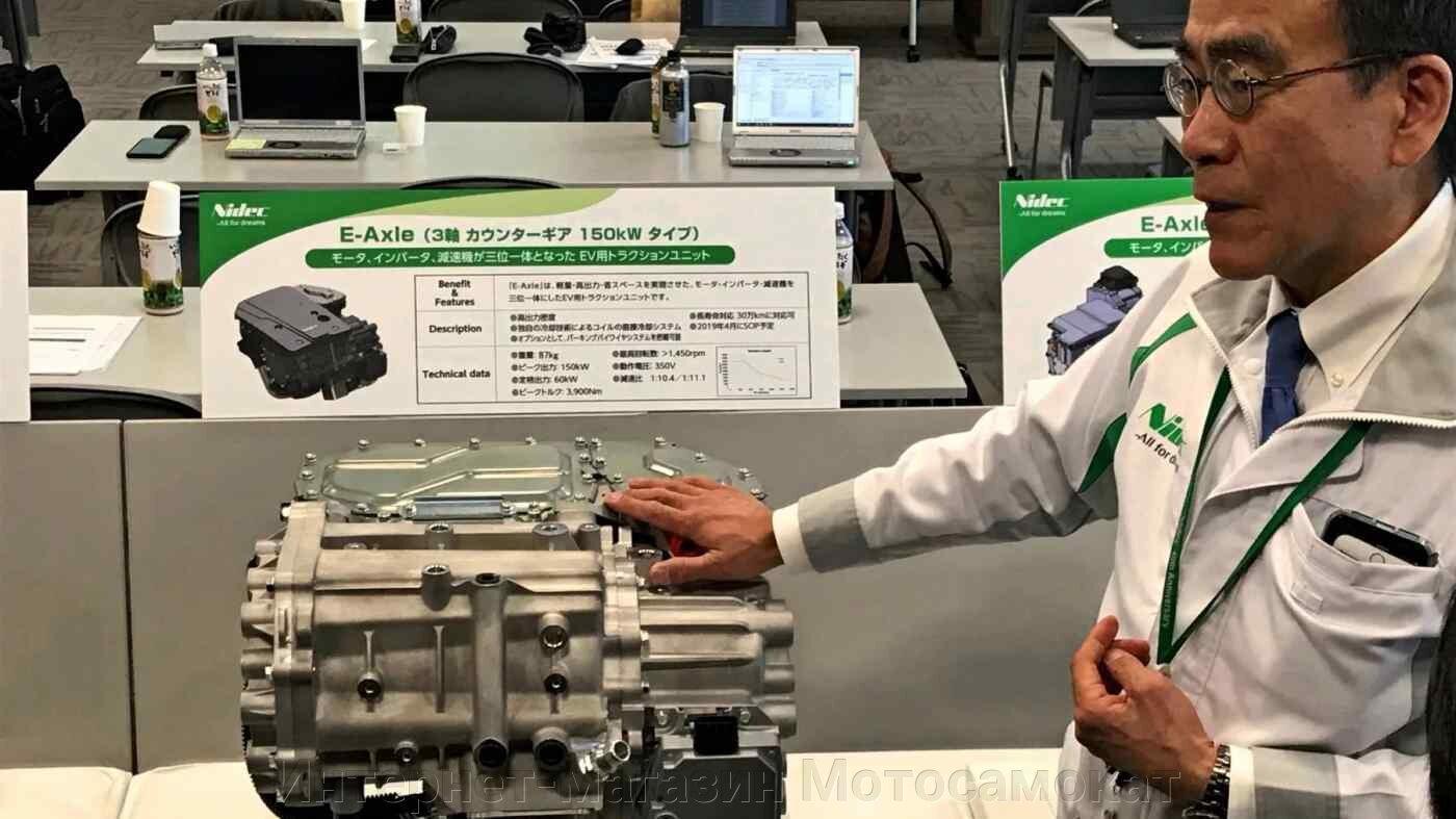 Nidec - Японское мотор-колесо для роботов. Редукторное, с реверсом.