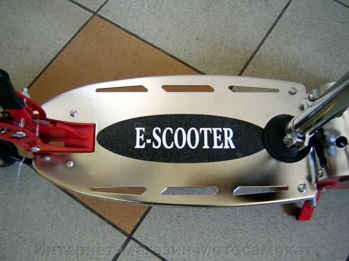 Электросамокат CD-08s с сидением, складной детский электрический самокат СД-08С