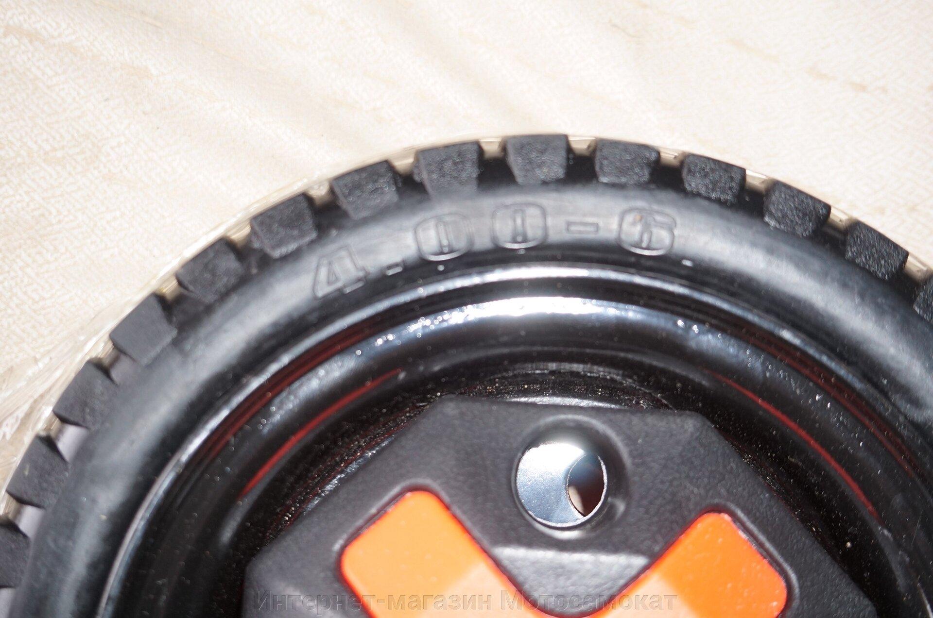 Литое колесо 4.00-6 для электрической тележки