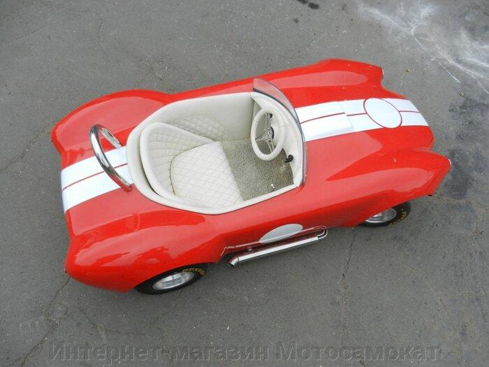 Электромобиль для проката, детям 4-14 лет. Реплика AC Cobra Mark II.