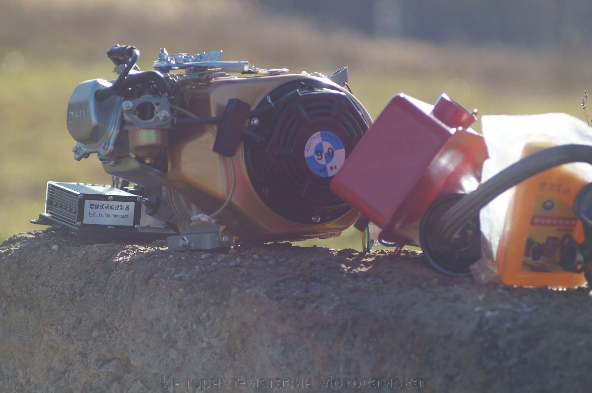 Бензогенератор постоянного напряжения для гибридов, 48-72 вольта, 4000 ватт.