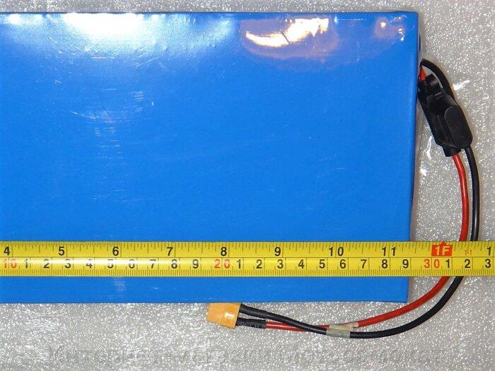 Литиевый аккумулятор LiFePO4 48v 12Ah (для велосипедов или скутеров)