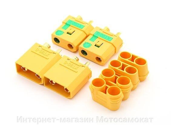XT60 - силовой разъем на 60 ампер, подходит для электросамокатов и электровелосипедов. - фото ХТ90