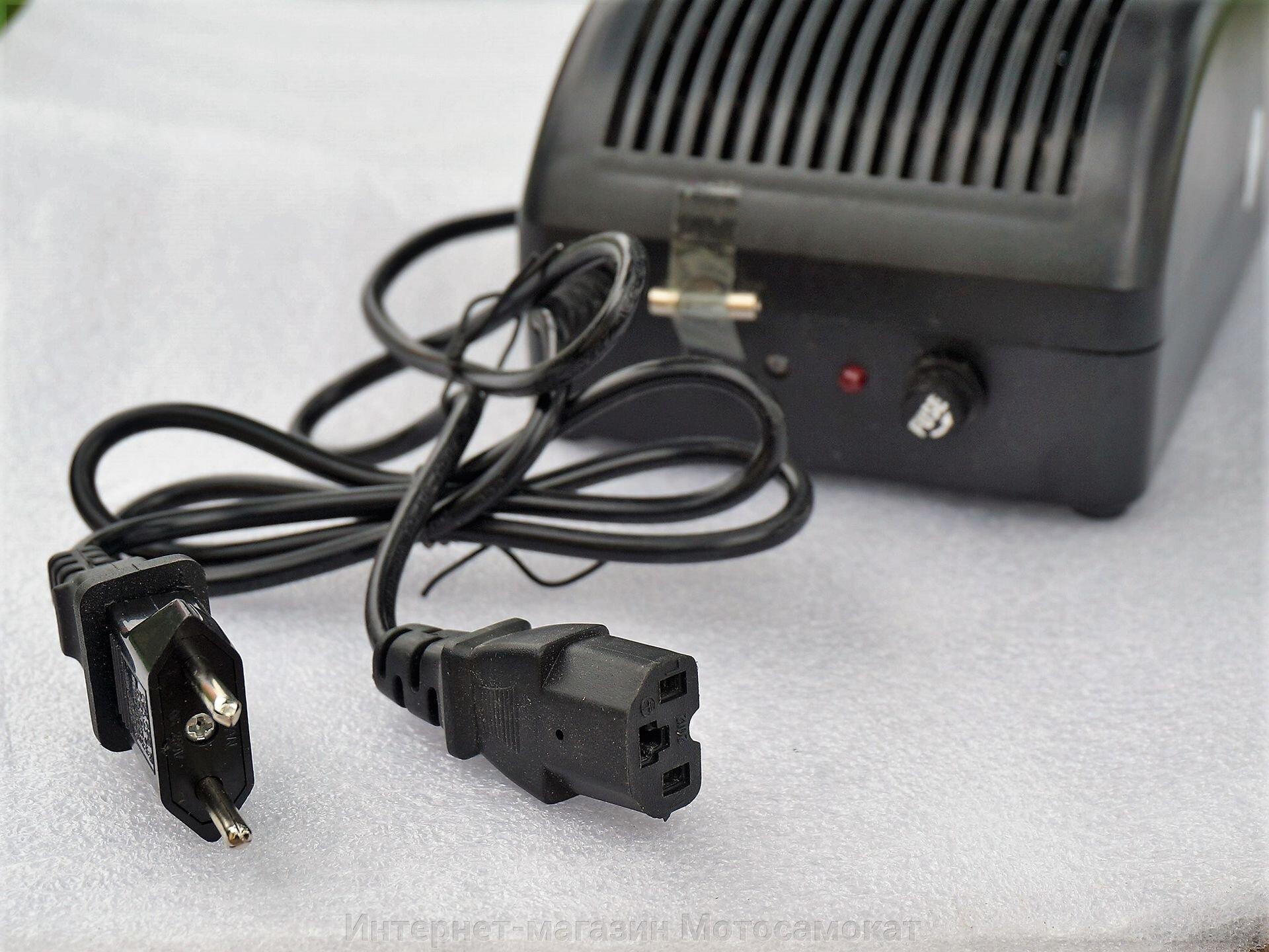 Зарядка LiFePO4 (58.8v) 48 вольт 2 ампера, с защитой от короткого замыкания. - фото Зарядка LiFePO4 (58.8v) 48 вольт 2 ампера, с защитой от короткого замыкания.