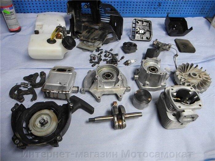 Двигатель двухтактный, бензиновый, 63 куб. см. для веломотора - фото Двигатель двухтактный, бензиновый, 63 куб. см. для веломотора