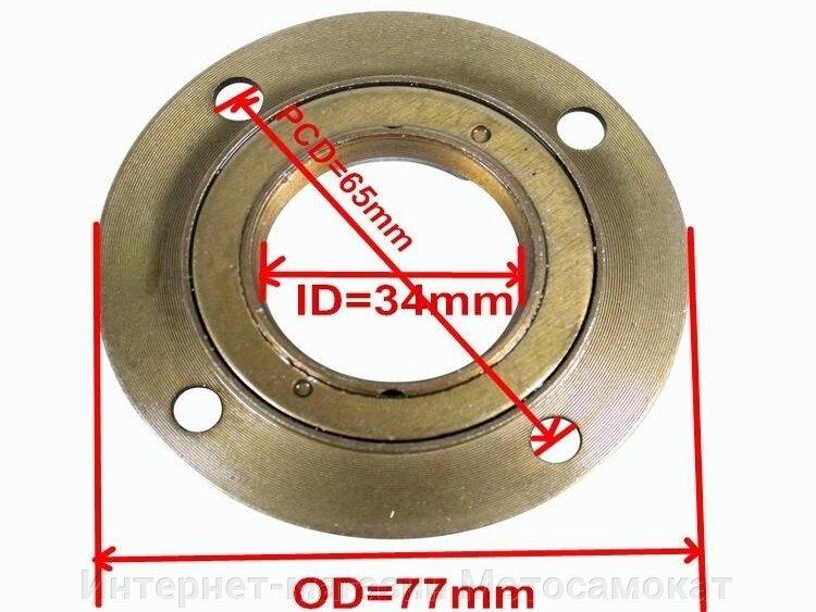 Обгонная муфта, левая, для веломотора или мотосамоката - фото Обгонная муфта, левая, для веломотора или мотосамоката.