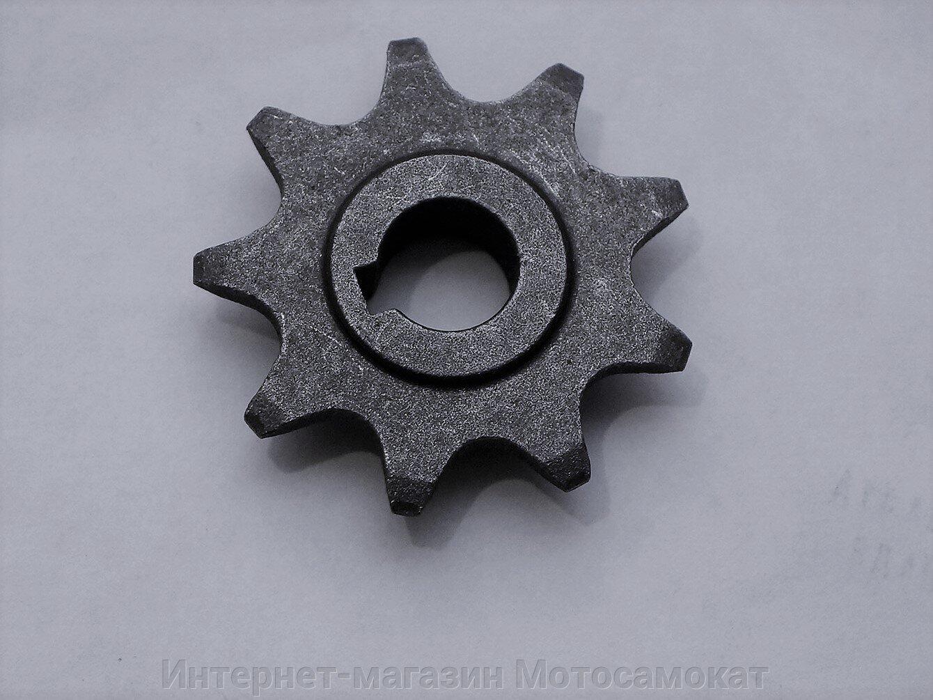 Звезда ведущая на девять зубцов для электромоторов MY1016Z, ZY1016Z