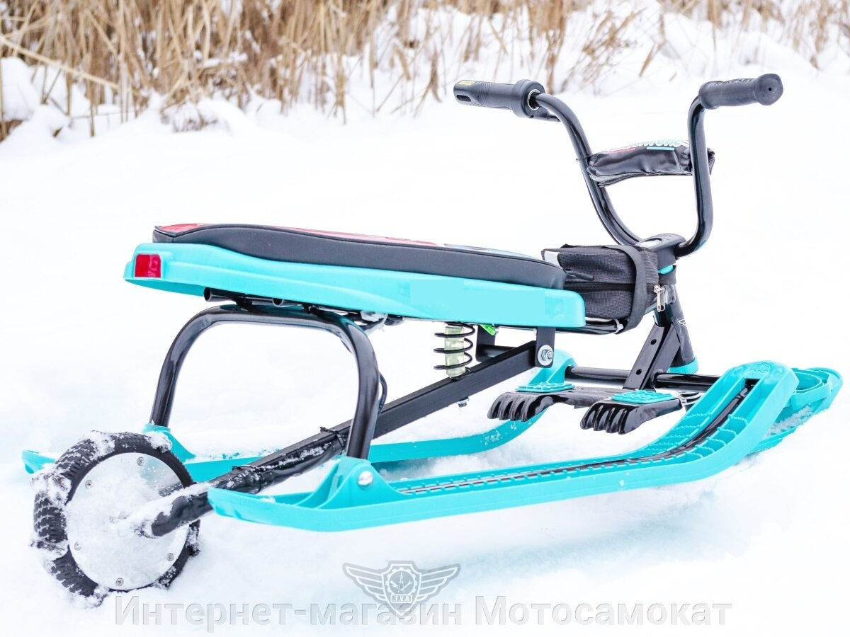 """Снегоход """"Umka-350"""" с электромотором для детей от 4 до 12 лет."""
