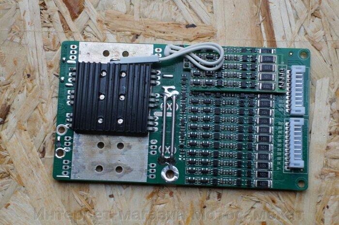 Литий ионный аккумулятор 72 Вольта, 17.5 Ач для электровелосипеда или электросамоката (Li-ion 72V 17,5AH 20s7p). - фото БМС для Li-ion 72V 20s bms