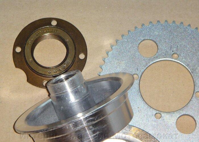 Обгонная муфта (трещетка, обгонка, фривил) для заднего колеса электросамоката. - фото заднее колесо на диск с обгонкой