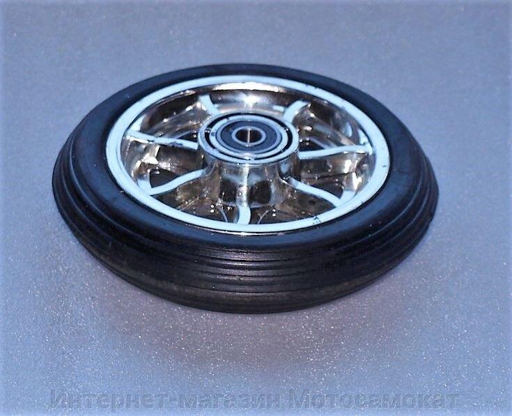 Колесо для электросамоката CD-08 переднее, диаметр 155 мм - фото Используется в электросамокатах СД-02, СД-03, СД-08, СД-15 и многих других, весом до 10 кг.