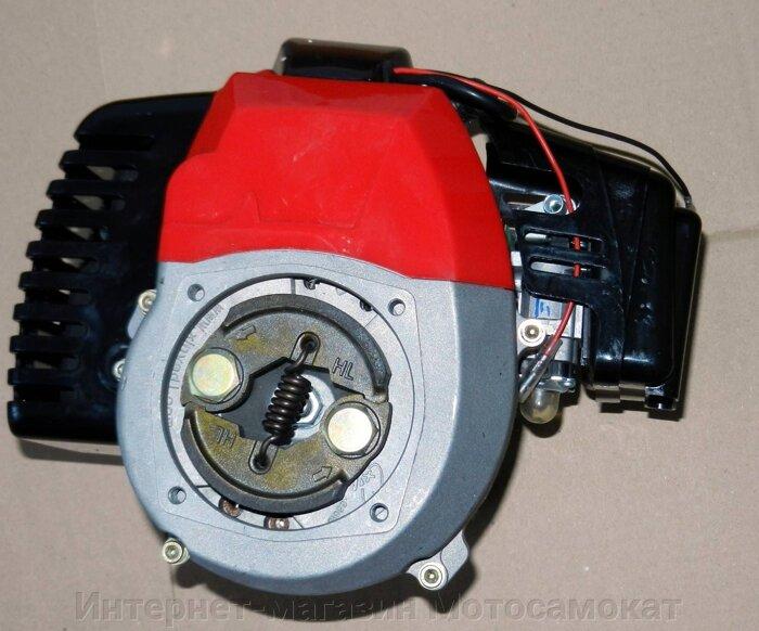 Двигатель двухтактный, бензиновый, со стартер-генератором (династартером), 2.5 л. с., 52 куб. см. для веломотора