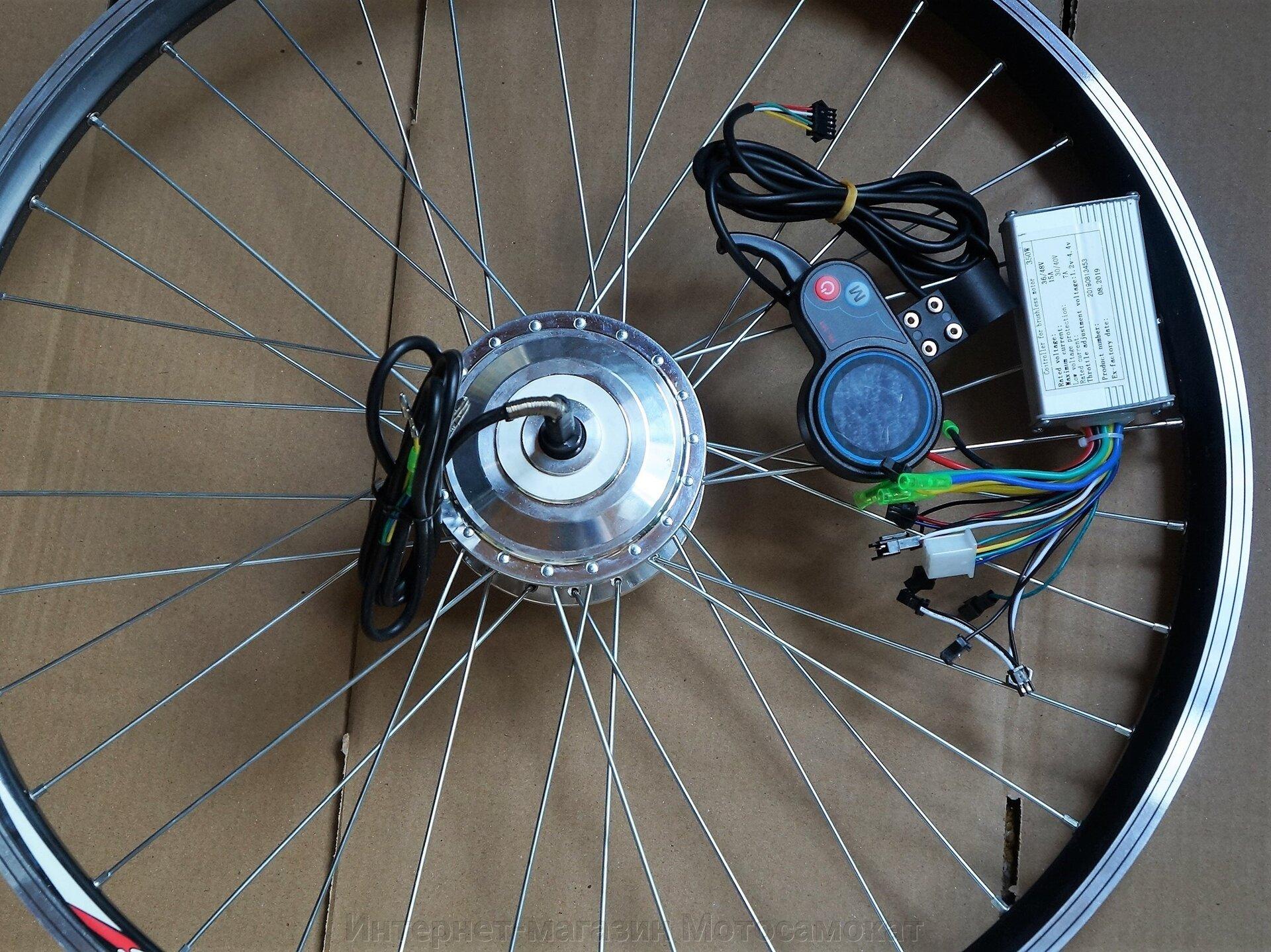 Мотор-колесо A85, 36 вольт 250 ватт, спицы 13G, 215 мм