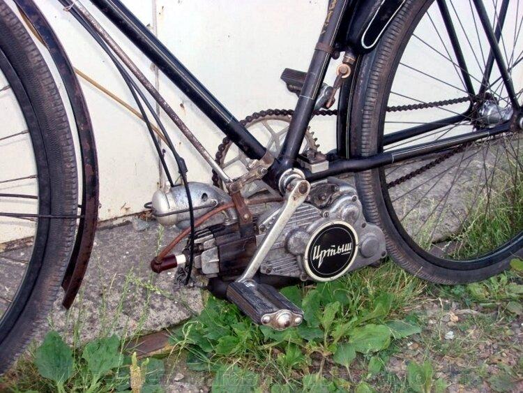 Фрикционный велопривод-веломотор Фрикцион-2020