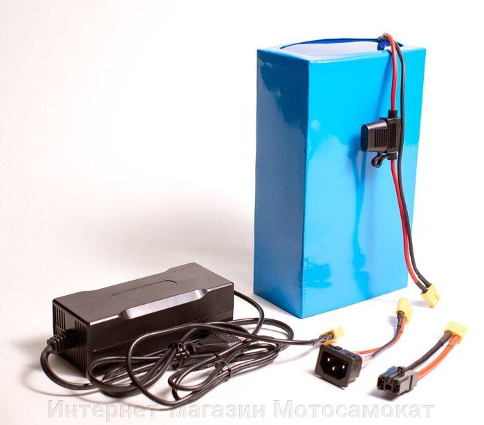 Литиевый аккумулятор Li-Ion (Li-NCM) 36v 16Ah для электросамоката - фото Все остальные необходимые разъемы можно подключить с помощью специальных переходников.
