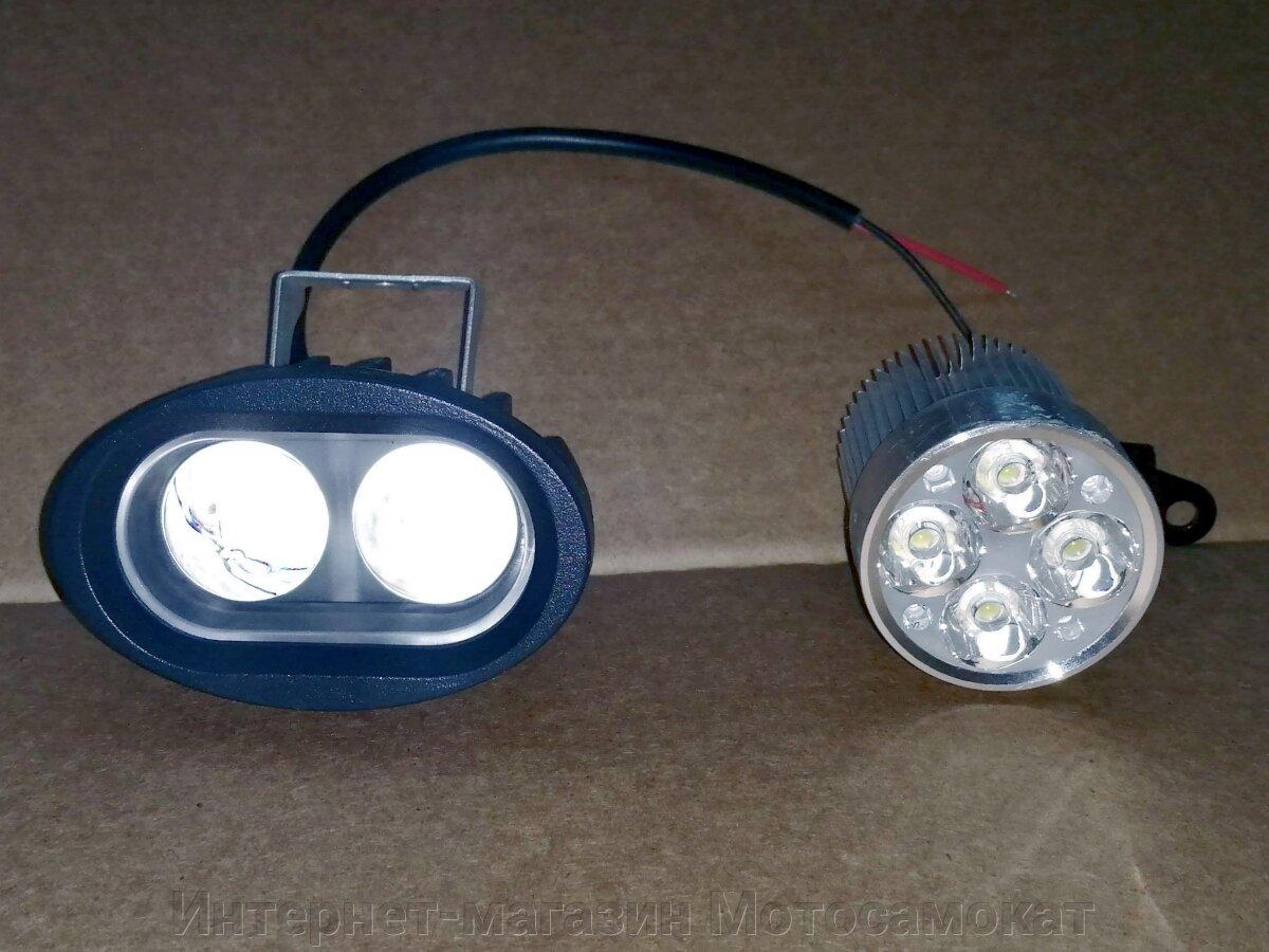 Новинка 2021 года - сверх- мощная, супер- светосильная, линзованная LED фара с узко- фокусированным световым потоком.