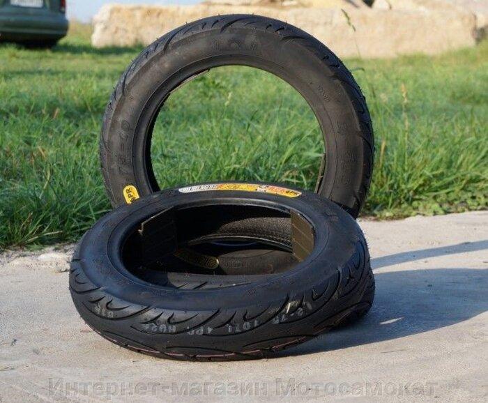 Переднее колесо для электросамоката Headway-3, в сборе с покрышкой 10x2.75 - фото покрышка (шина) Chao Yang H-926, 10x2.75
