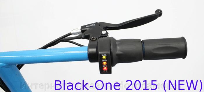 Электросамокат Black-One 2015, складной, с мотор-колесом, 36 вольт - фото Электросамокат Black-One 2015, складной, с мотор-колесом, 36 вольт.