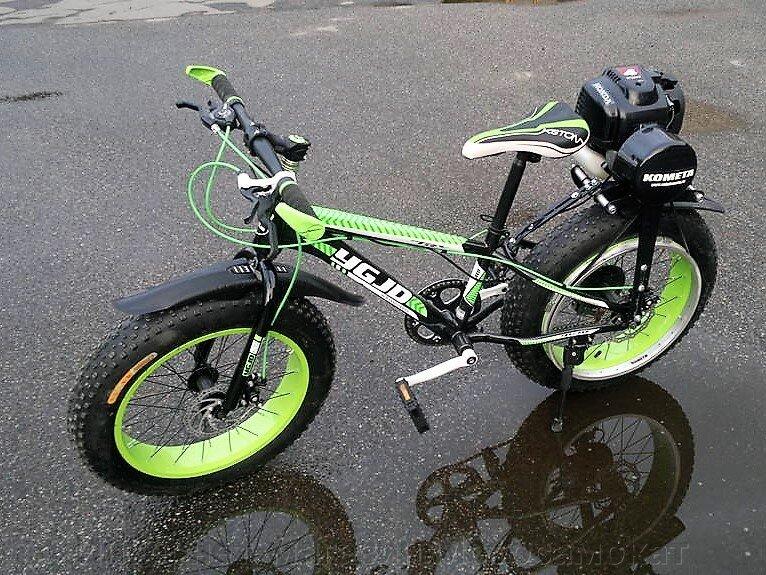 Мини-фэт с мотором Honda-GX35.
