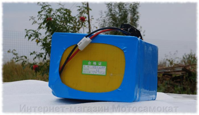 Литиевый LiFePO4 аккумулятор 48v 20Ah для электровелосипеда - фото Лифер для электровелика