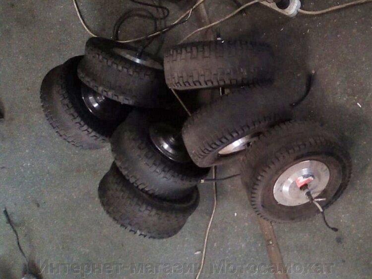 Мотор-колесо для переднее 13/5.00-6, тяговое, б/у - фото Мотор-колесо 13/5.00-6, тяговое, б/у